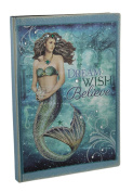 Bedazzled Blue Sparkling Mystical Mermaid Journal 21cm X 15cm