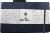 Pentalic 13cm x 20cm 60kg. (300 gsm) AF Aqua Journal 2 x 48 Page Book