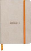 Rhodiarama Dot 10cm X 15cm Beige Notebook