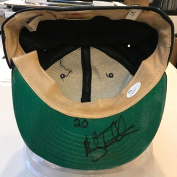 1991 Mickey Tettleton Signed Game Used Detroit Tigers Baseball Hat Cap COA - JSA Certified - Autographed Hats