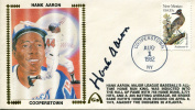 Hank Aaron Autographed 1st Day Cover