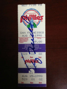 Terry Mulholland Autographed No-Hitter Ticket 2