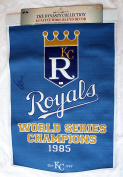 George Brett Signed Autographed Large Kansas City Royals Dynasty Collection Banner 0.6m x 0.9m COA