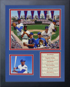 Legends Never Die Chicago Cubs Retired #'s Framed Photo Collage, 28cm by 36cm