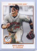 """(5) BRYCE HARPER 2011 HAGERSTOWN SUNS """"5"""" CARD ROOKIE SET/LOT! W/H TOP LOADERS!"""