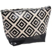 Kingsley Women's Beauty Travel Geometric Cosmetic Small Bag Case