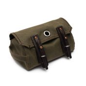 Mountainback Dopp Kit by Saddleback Leather - Hanging Canvas/Leather Men's Toiletry Bag