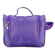 Portable Toiletry Bag,Water Resistant Multifunctional Travel Kit Organiser Mesh Pockets, Bathroom Storage with Hanging Hook