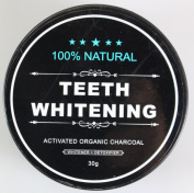 Fheaven Natural Organic Activated Charcoal Bamboo Teeth Whitening Powder Toothpaste