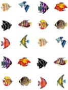 40 Tropical Fish Nail Art Decals