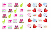 40 Happy Mother's Day / Mom Waterslide Nail Decals/Nail art