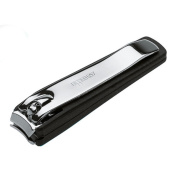 Premium German Stainless Nail Clipper with Nail Catcher 6cm. Handmade in Solingen, Germany by NIPPES