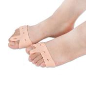 JERN Beige Silicone Gel foot fingers Toe Separator