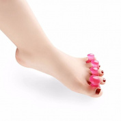 JERN Red Gel Silicone toe separator and Bunion Gua