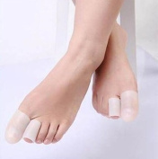 JERN Silicone Gel Toe Tube Foot Corns, Blisters, Bunion Toe Finger Protector(2 Pcs)