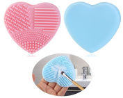 Knick Knack Supplies Makeup Brushes Cosmetic Make Up Brush Set Kit+Brush Cleaner