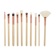 Molie 10PCS Makeup Brush Foundation Powder Eyebrow Make up Brushes Beauty Tools