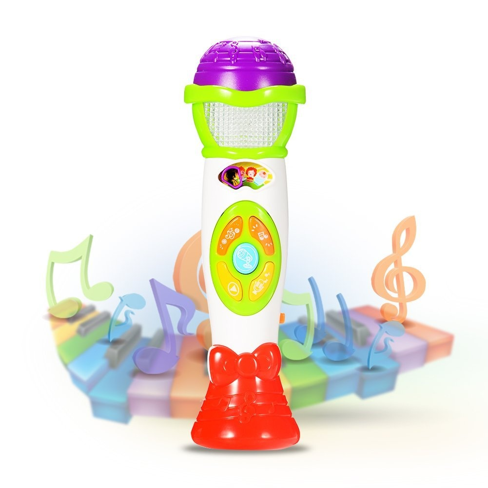 Play Tools wuayi Little Star Echo Microphone Singer Toy Mic