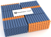 Waffle Darts 300-Pieces Set, Ultimate Nerf Foam Toy Darts By Raytheon Toys, Premium Refill Bullets For N-Strike Guns, Universal Mega Pack, Firm and Safe Nerf Accessories Amazing Precision Control