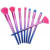 PERMAN 8 pcs Makeup Brushes Set Professional Cosmetics Foundation Blending Blush Eyeliner Face Powder Lip Brush Makeup Brush Kit