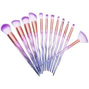 PERMAN 12 pcs Makeup Brushes Set Professional Cosmetics Foundation Blending Blush Eyeliner Face Powder Lip Brush Makeup Brush Kit