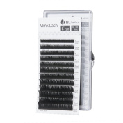 Eyelash Extension BL Signature Mink Lash C Curl 8 Sizes in 1 Mixed Tray