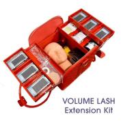 BioTouch EYELASH Extension VOLUME LASH KIT Red/Black