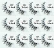 #WSP, 12 Pairs ifullash 100% Human Hair Eyelashes