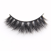 Arimika Handmade 3D Mink False Eyelashes-Extra Long Fluffy Dramatic Looking,Reusable with Sturdy Flexible Band,Cruelty Free