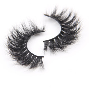 Arimika Handmade Voluminous 3D Mink False Eyelashes-Thick Huge Dramatic Looking,Reusable with Sturdy Flexible Band,Cruelty Free