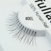 #DEL, 12 Pairs ifullash 100% Human Hair Eyelashes