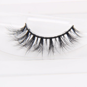 Arimika Handmade Natural Looking 3D Mink Fake Eyelashes -Reusable with Sturdy Flexible Band,Cruelty Free