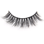 Arimika Handmade 3D Mink False Eyelashes -Reusable with Sturdy Flexible Band, Lightweight Natural Looking,Cruelty Free