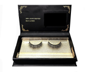 "XXV BEAUTY ""Classy"" Luxurious Thickening 100% Handmade Reusable Silk Eyelashes"