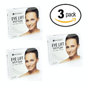 Bella Eleganze Beauty 3 PACK Eyelid Tape Instant Eye-lift Without Surgery - Achieve a Subtle, Beautiful & Youthful Appearance 120 Strips Medical Grade Latex Free Hypoallergenic - Small 3mm x 26mm