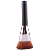 GAMT Synthetic Fibre Wood Handle Contour Brush Beauty Pincel Makeup Brush Tool 1Pc