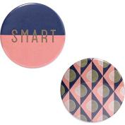 Odeme Button Mirror Set Smart 2 pcs
