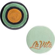 Odeme Button Mirror Set La Vita 2 pcs