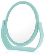 Danielle 7X Soft Touch Oval Vanity Mirror, Seafoam