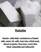 "Chalk natural,Edible chalk,Edible chalk,chunks Russian, Chalk ""Vatutin"" 200gr."