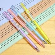 M & Sun 8 Pcs Pencil, Automatic Mechanical Pencils, Cool Mechanical Drawing Pencil, Mechanical Pencil for Office Work 2.0mm 2B Pencil Lead