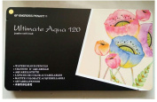 Coloured Watercolour Pencils - Water Soluble Coloured Pencils For Art Students & Professionals,Drawing, Watercolour, Art, Inktense Ink Pencils, 120-Pack