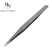 BestNew FIne PoInt Silver Tone PoInty Straight Tweezers 11cm CP - BeautyNoses2017