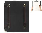 """Portable 2-in-1 Artist Sketch Board Waterproof Art Portfolio Carry Backpack Shoulder Bag Sketchpads Drawing Board Travel Art Supplies Shoulder Storage Bag, 8K, 16"""" x 12"""""""