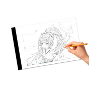 COCODE Tracing Board A4 Led Light Box Tracer Drawing Copy Light Board With Usb Powered For Artists,Sketching,Animation,Stencilling