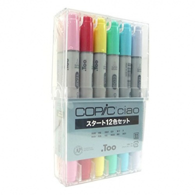 Copic Ciao Start 12 Colour Set