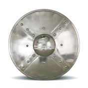 Large 14 Gauge Steel Combat Functional Roman Archer Mediaeval Buckler Shield SCA