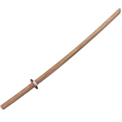 Red Oak Bokuto/Bokken for Kendo (101.5cm or 40 Inches) with Hand guard and Stopper by Kusakura