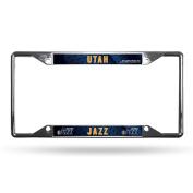 NBA Utah Jazz Chrome Plate Frame