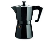 Pezzetti ItalExpress Coffee Maker in aluminium-14 Cups centimetres black